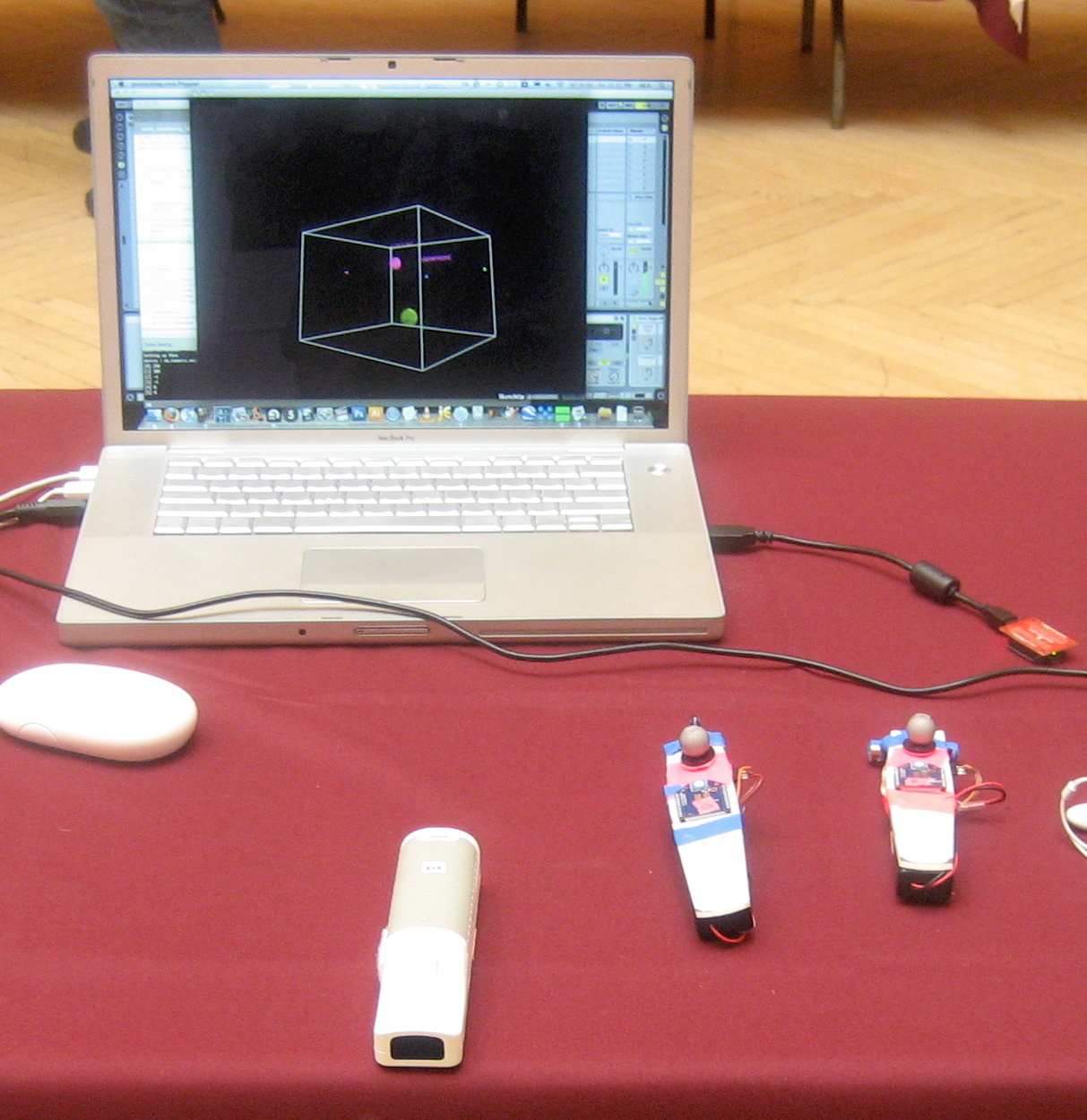 Audio Orienteering at NIME 2009