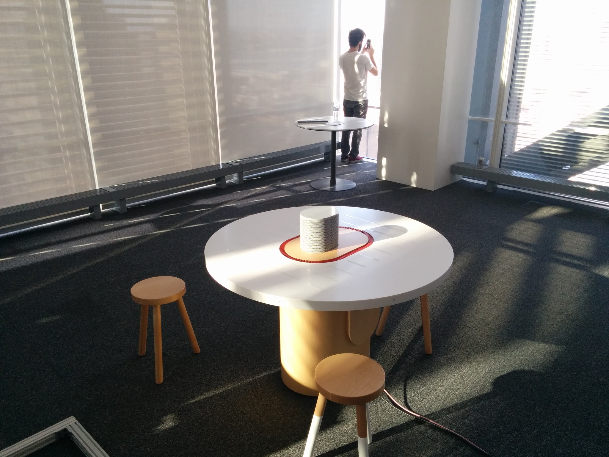 Listening Table deployed at nytlabs