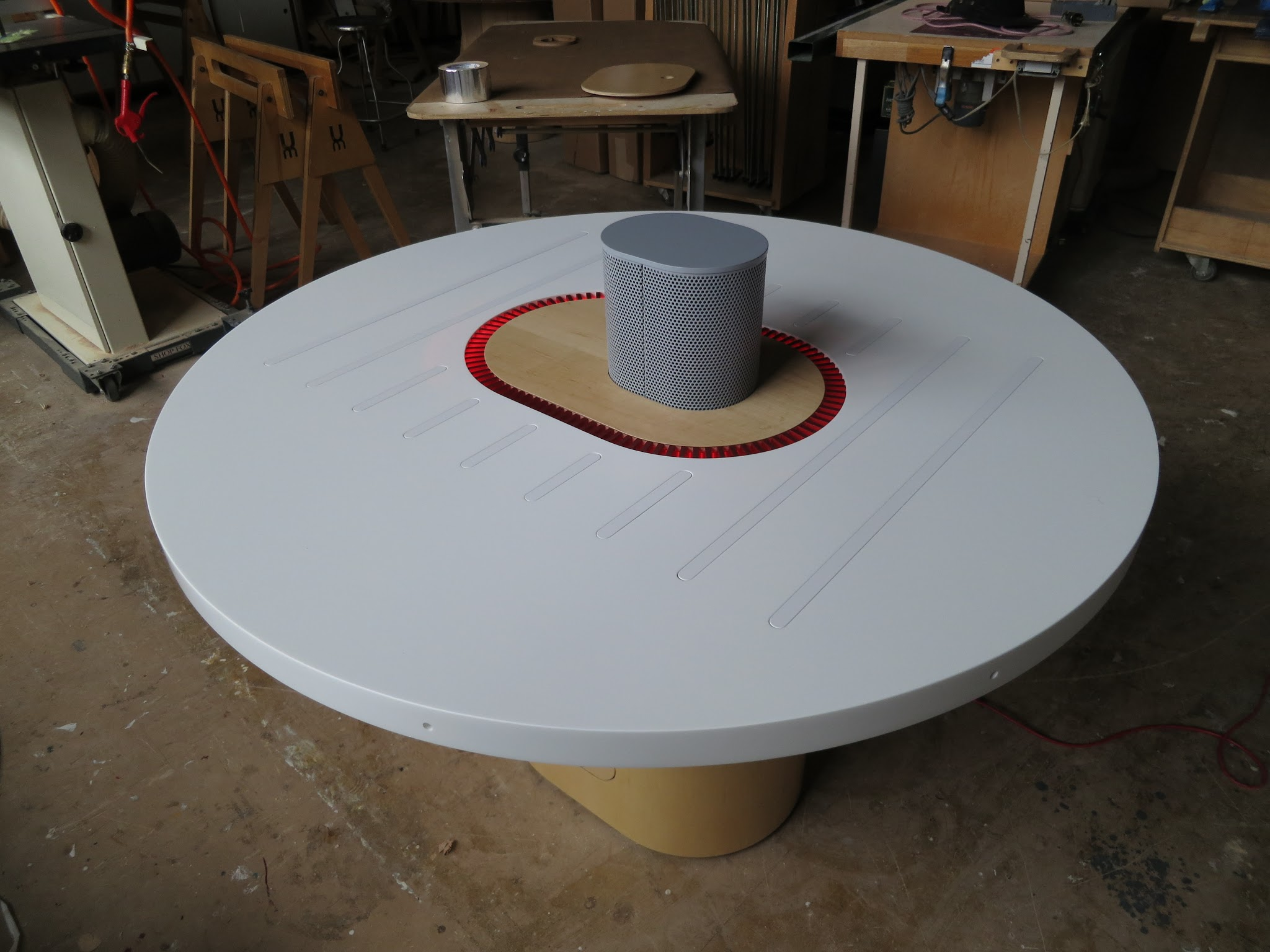 Listening Table at UM Project studios